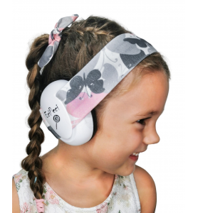 Ear defenders BUTTERFLIES PINK