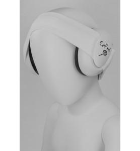 Ljudisolerade hörlurar VIT