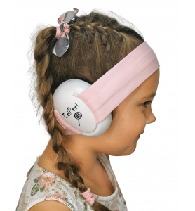 Ear defenders POWDER PINK
