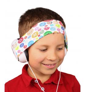 Audio headphones BUTTONS