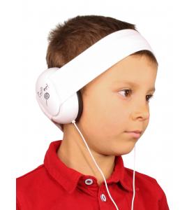 Audio headphones WHITE