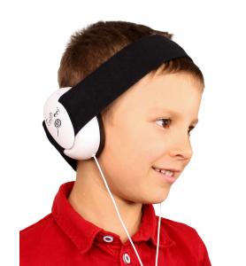 Audio headphones BLACK