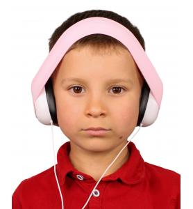 Audio headphones POWDER PINK
