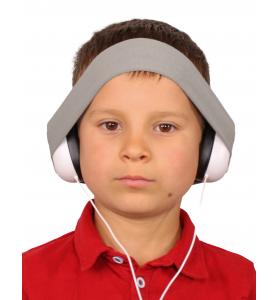 Audio headphones GREY