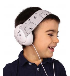 Audio headphones PANDA GREY