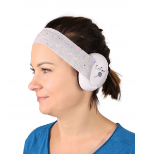 Ear defenders for an adult