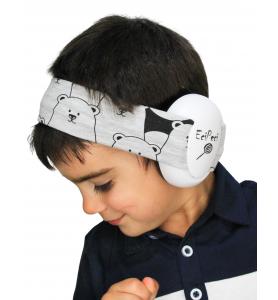 Ear defenders PANDA GREY