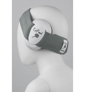 Ljudisolerade hörlurar GRÅ