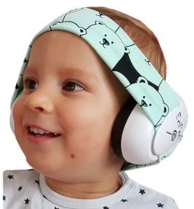 Ear defenders PANDA MINT
