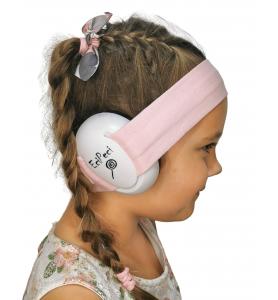 Ear defenders POWDER PINK